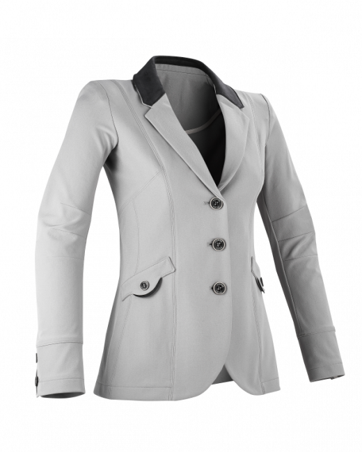 Tailor Made Turnierjacket grau vorne